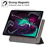 Ztotop Case for iPad pro 11 inch 2018,Ultra Slim Smart Magnetic Back,Trifold Stand Protective Cover with Auto Wake/Sleep for 2018 iPad Pro 11 inch A1980 A1934 A2013 A1979,Black Bild 1