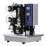 Happybuy Codifica Nastro Elettrico Semiautomatico Stampante Termica Etichette 10 ~ 100 volte/min Stampante Termica Barcode HP-241B immagine
