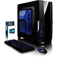 VIBOX Pyro GS450-2 Gaming PC Ordenador de sobremesa con War Thunder Cupón de juego, Windows 10 OS (4,0GHz AMD FX Quad-Core Procesador, Nvidia GeForce GTX 1050 Tarjeta Grafica, 8GB RAM, 1TB HDD)