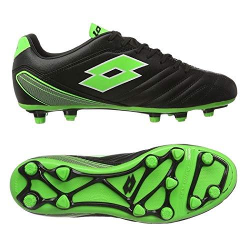 64a2841ef Lotto Men's Stadio 700 Fg Football Boots, Black (Black/Mint 010),