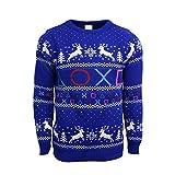 PlayStation Symbols Xmas Pullover Blue XL