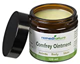 Remedinature Comfrey Ointment 120ml: Natural Odourless Body Joint Skin Balm