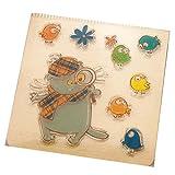 Rawuin transparentes Silikon-Gummi-Stempel-Set / Stanz-Set zum Basteln, Scrapbooking, zum Verschönern von Fotos, Karten, Büchern, für Wand- oder Fenster-Dekoration (#002) Vogel-Motiv
