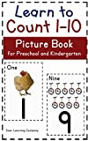 Learn to Count Numbers 1-10 Picture Book: for Preschool and Kindergarten