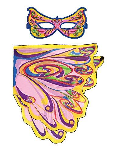 Dreamy Dress-Ups 661312-Spielset: Flügel + Maske, Fairy Rainbow