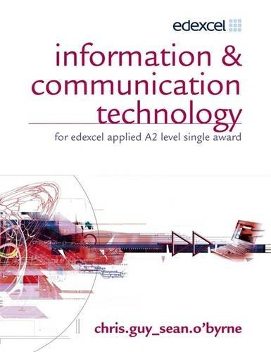ICT for Edexcel Applied A2 Single Award (including CD-ROM) by Chris Guy (2006-08-25)