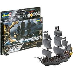 Maqueta de barco la Perla Negra de Piratas del Caribe.