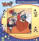 Wickie - Mein Riesenpuzzlebuch. Mit 5 Puzzles und vielen Lernaufgaben