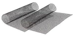 Rosenstein & Söhne Backmatte: 2x Profi-Silikon Dauer-Back- & Grillmatte 42x36cm, antihaft (Barbecue Grillmatte für Holzkohle-Grill, Holzkohlegrill, Elektrogrill, Kugelgrill, Tischgrill)