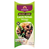Shazans Micro Cook Lamb Kebab Wrap, 150 g (Frozen)