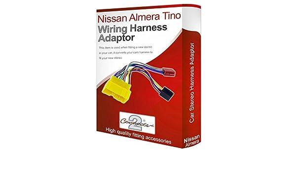 Nissan Almera Tino CD Radio Stereo Kabelbaum Adapter f/ühren Loom ISO