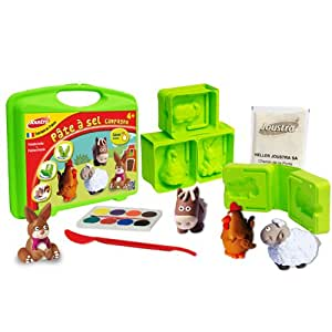 Joustra - 43026 - Kit De Loisirs Créatifs - Pate A Sel Campagne