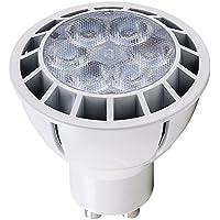 Heitronic–Bombilla LED (GU10, 7W, luz blanca neutra, eficiencia energética: A