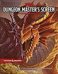 D&D Dungeon Master's Screen (D&D Accessory) by Wizards RPG Team (2015-01-20)