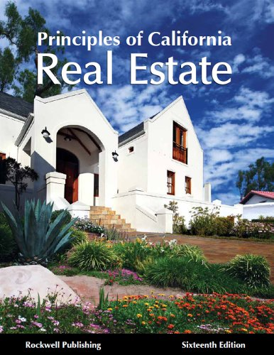 Principles Of California Real Estate 16th Edition