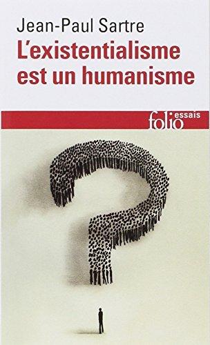 L' Existentialisme Est Un Humanisme (essai) (English and French Edition) by Jean-Paul Sartre (2002-05-04)