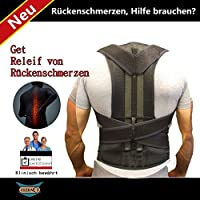 Bauchgurt Rückenbandage mit Stabilisierungsstäben Verstellbarer Rückengurt Atmungsaktiv Bauchweggürtel für Alltag... preisvergleich bei billige-tabletten.eu