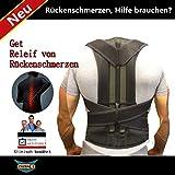 Bauchgurt Rückenbandage mit Stabilisierungsstäben Verstellbarer Rückengurt Atmungsaktiv Bauchweggürtel für Alltag
