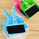 FPR Set Mini Dustpan Supdi with Brush Broom Set for Multipurpose Cleaning Laptops, Keyboards, Dining Table, Car Seats, Carpet