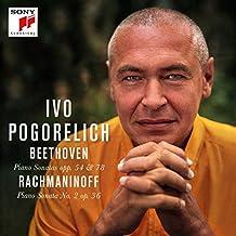 Beethoven: Klaviersonaten Nr. 22 op. 54& Nr. 24 op. 78/Rachmaninow: Klaviersonate Nr. 2 op. 36
