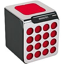 'NINETEC TabNT01–Beat L-Boxx Bluetooth Speaker altavoz Sound Box portátil rojo