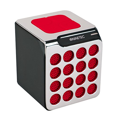 NINETEC BeatBoxx Bluetooth Speaker Lautsprecher Sound Box portabel Rot