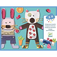 Djeco DJ08664 Young Children-Collages, Mixed