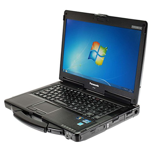 Outdoor Notebook Panasonic Toughbook CF-53 Core i5 2520M 2,5 GHz 14 Zoll Windows 7