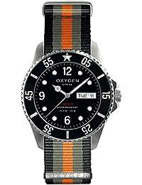 University Sports Press EX-D-MOB-44-NN-BLGROR - Reloj de cuarzo unisex, correa de nailon multicolor
