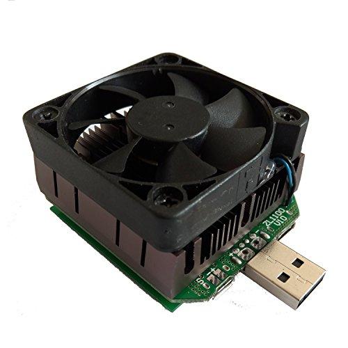 Preisvergleich Produktbild USB Laden Tester YZXStudio ZL1100 von KAAYEE in 0-24v 0-3a verstellbar und unterstützen QC2.0 3.0 99% das protokoll mit lüfter