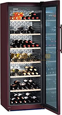Liebherr WKt 5552 GrandCru - wine coolers (freestanding, Brown, SN, T, A, Stainless steel, Right) by Liebherr