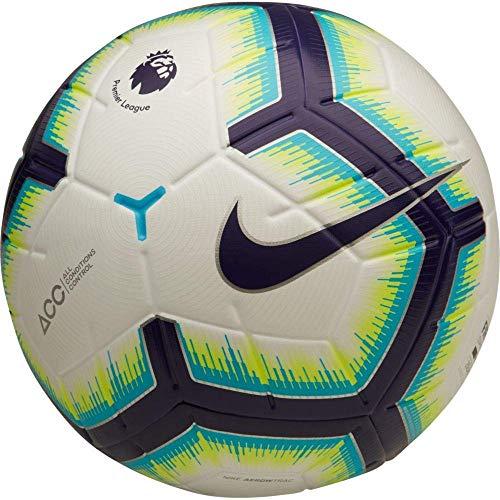 Nike Merlin Premier League Football (White-Blue)