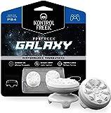 KontrolFreek FPS Freek Galaxy Weiß für PlayStation 4 (PS4) Controller | Performance Thumbsticks | 1 x Hoch, 1 x Mittel | Weiß