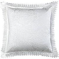 Viantala Fedra 60 - Funda de cuadrante, 60 x 80 cm, algodón y poliéster, color blanco