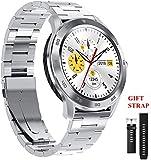 ZFFSC Donne Cardiofrequenzimetro Lady h Fitness Tracker Wristband Donne Intelligenti Bracciale, Oro Wrist Watch
