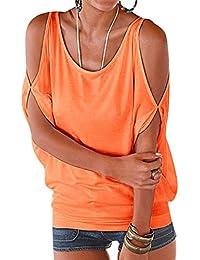 Camisetas Manga Corta Cuello Redondo Anchas Mujer Blusas Elegantes Camiseta Largas Chica Camisas Dama Fiesta Señora Blusa Camisa Verano Remeras Blusones Top Casual Personalizadas