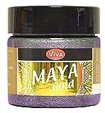 Viva Decor Maya Gold Mauve Effektfarbe Bastelfarbe Zeichenfarbe Mauve