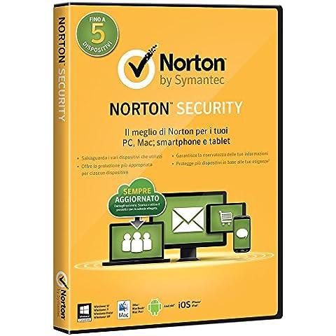 Symantec Norton Security 2.0, 1u, 1Y, DVD, ITA - Seguridad y antivirus (1u, 1Y, DVD, ITA, Windows 7 Home Basic, Windows 7 Home Basic x64, Windows 7 Home Premium, Windows 7 Home Premium x64, , Android, iOS, ITA, Caja, Full license, DVD)