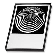 Postkartenset - Op-Art. 25 Postkarten in schöner Geschenkbox: Für Freunde der optischen Kunst und prägnanter Grafik (Fournitures de bureau)