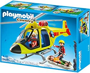 playmobil 5428 helikopter der bergrettung. Black Bedroom Furniture Sets. Home Design Ideas