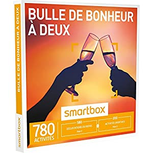 SMARTBOX - Coffret Cadeau - BULLE DE BONHEUR À DEUX - 700 activités : dégustation ou aventure