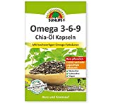 SUNLIFE® Omega 3-6-9 Chia-Öl Kapseln mit hochwertigen Omega-Fettsäuren 30 Kapseln