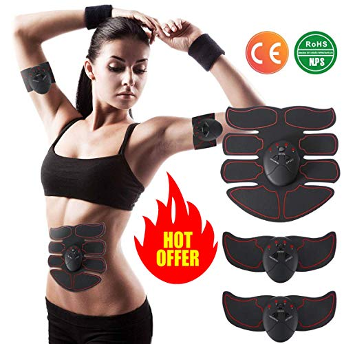 Charminer Elettrostimolatore Muscolare Trainer, Uomo/Donna Addome/Gambe/Waist/Glutei Massaggi-attrezzi pišŽ potente adatto per uomini e donne regalo