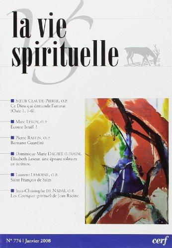 La Vie Spirituelle Vs774