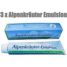 Lloyd 3 Tuben Alpenkräuter Emulsion 200ml - ORIGINAL !