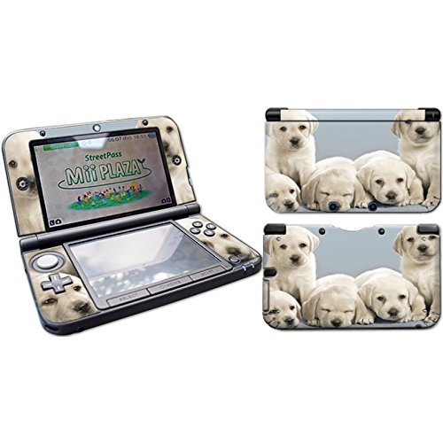 Skins4u Nintendo NEW 3DS XL Skin Aufkleber Design Folie Sticker Set 2017er Edition - Hunde Welpen