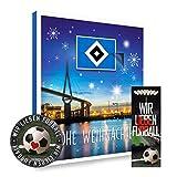 Adventskalender, Weihnachtskalender deines Bundesliga Lieblingsvereins 2018 - Plus gratis Sticker & Lesezeichen Wir Lieben Fußball (Hamburger SV Premium)