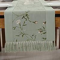 Corridore della tabella cinese/ moderno minimalista tovaglia/Sciarpa letto americano/ cotone e Tovaglietta in lino/ tovaglia-A 38x180cm(15x71inch)