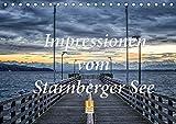 Impressionen vom Starnberger See (Tischkalender 2019 DIN A5 quer): Genießen Sie 12 emotionale Bilder, die den Starnberger See im Licht der ... (Monatskalender, 14 Seiten ) (CALVENDO Natur)