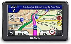 """Garmin nuvi 2545LMT 5"""" Sat Nav with UK and Western Europe Maps, Free Lifetime Map Updates and Free Lifetime Traffic Alerts"""